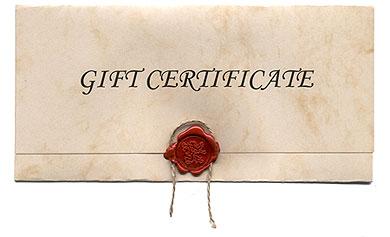 gift certificate pagu batons